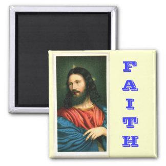 Jesus Christ Faith Magnet