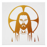 Jesus Christ : God bless you Poster