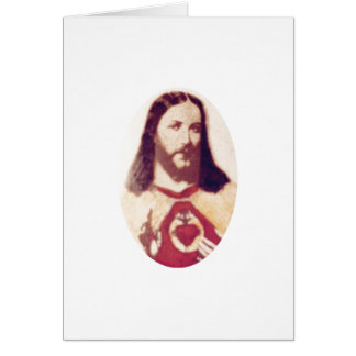 Jesus Christ:God is Love Card
