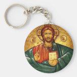 Jesus Christ Hristos Iisus Isus Key Chain