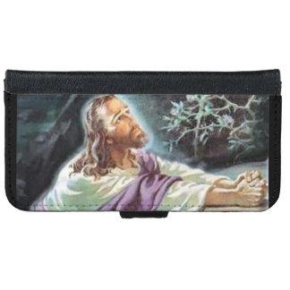 Jesus Christ in Prayer iPhone 6 Wallet Case