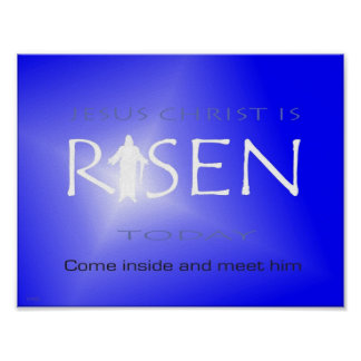 Jesus Christ is Risen Today Poster