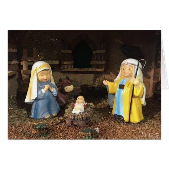 Jesus Christ. It's Christmas Card