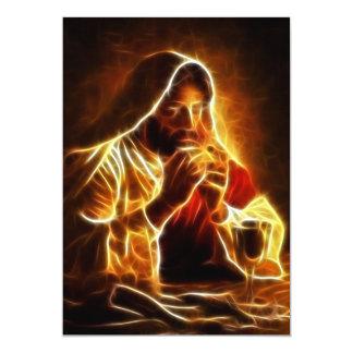 Jesus Christ Last Supper Card