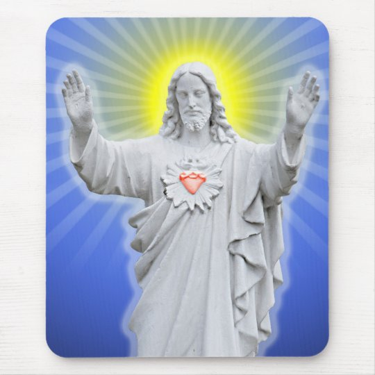 Jesus Christ Mouse Pad