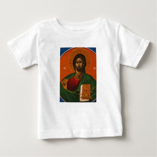 Jesus Christ Orthodox Christian Icon Baby T-Shirt