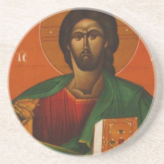 Jesus Christ Orthodox Christian Icon Coaster