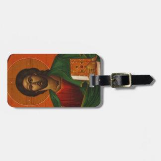 Jesus Christ Orthodox Christian Icon Luggage Tag