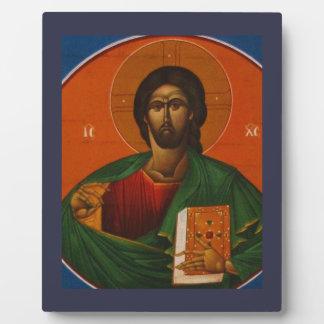 Jesus Christ Orthodox Christian Icon Plaque