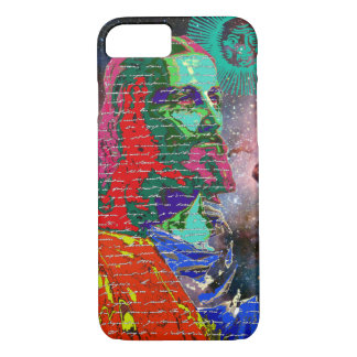 Jesus Christ Outer Space Galaxy Cosmos Stars Sun iPhone 8/7 Case
