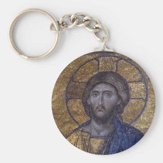 Jesus Christ Pantocrator Keychain