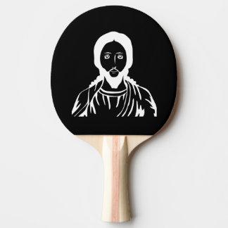 Jesus Christ Ping Pong Paddle