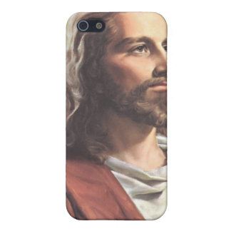 Jesus christ Portrait  iPhone 5 Covers