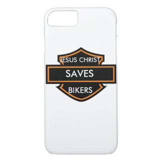 JESUS CHRIST SAVES IKERS iPhone 7 CASE