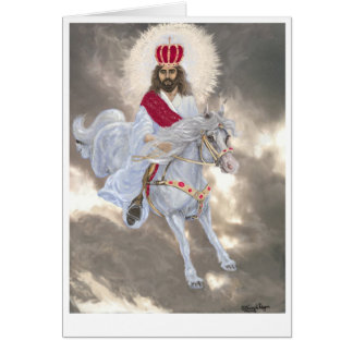 Jesus Christ Second Coming- Card