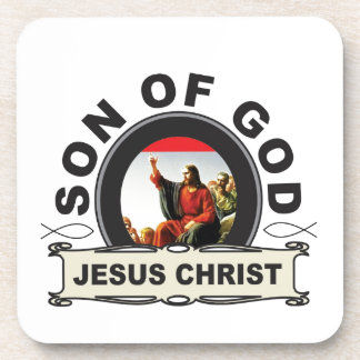 Jesus Christ son of god Coaster