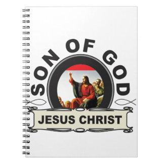 Jesus Christ son of god Spiral Notebook