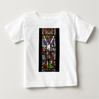 Jesus Christ Stained Glass Baby T-Shirt