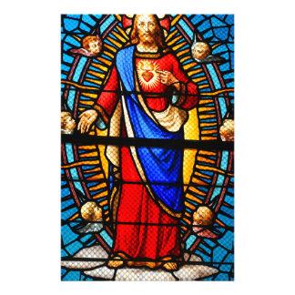 Jesus Christ Stationery Design