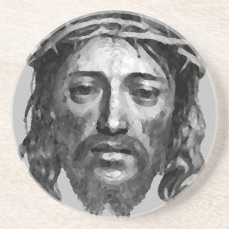 Jesus Christ Th Messiah Christian Art Coaster