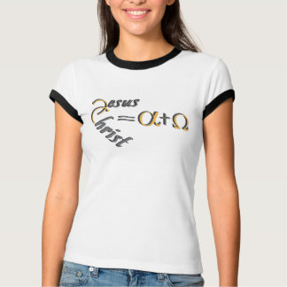 Jesus Christ the Alpha and the Omega T Shirt