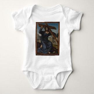 Jesus Christ With Cross Baby Bodysuit
