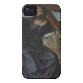 Jesus Christ With Cross iPhone 4 Case-Mate Case