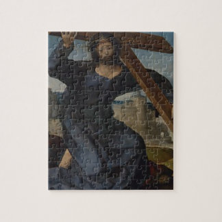 Jesus Christ With Cross Jigsaw Puzzle