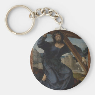 Jesus Christ With Cross Keychain