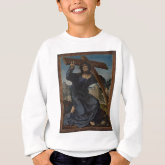 Jesus Christ With Cross Sweatshirt