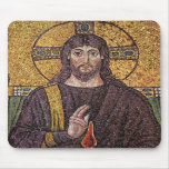 Jesus Christ with Holy Spirit Flame Mosaic