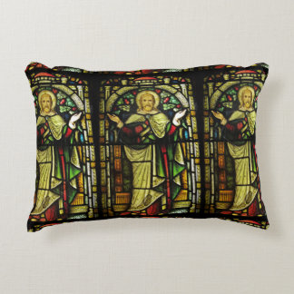 Jesus Christ with Open Arms Decorative Pillow
