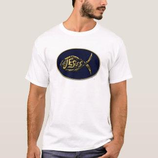Jesus Christian fish symbol t shirt