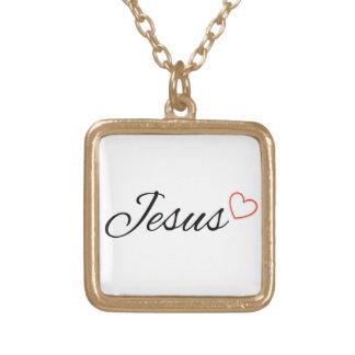 Jesus Christian Pendant Necklace, Bible Verse