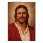Jesus Christ's Loving Smile Greeting Card