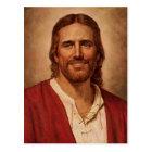 Jesus Christ's Loving Smile Postcard