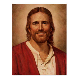 Jesus Christ's Loving Smile Postcard