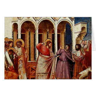 Jesus cleanses the temple - Companion Card