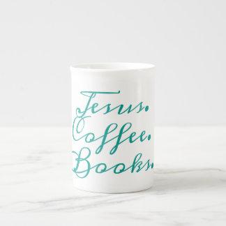 Jesus, Coffee, Books: Mug for Christians