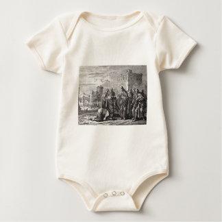 Jesus Confronts 12 Apostles Baby Bodysuit