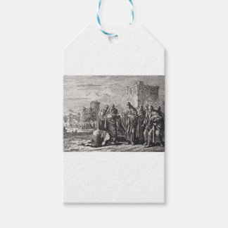 Jesus Confronts 12 Apostles Pack Of Gift Tags