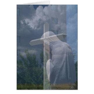 Jesus & Cross Card