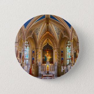 Jesus Cross Church 2 Inch Round Button