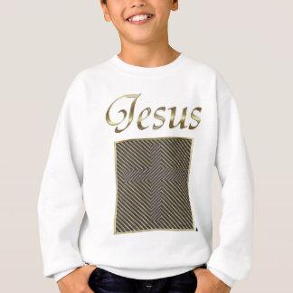 JESUS Cross Optical Illusion Sweatshirt