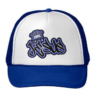 JESUS ,CROWN 3 CAP TRUCKER HAT