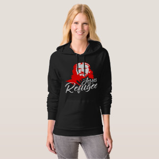 Jesus Dark Women's Fleece Pullover Hoodie