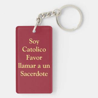 Jesus de la Misericordia Divine Mercy Keychain