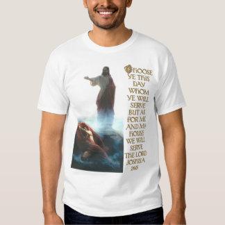 Jésus défaisant le 24h15 de Satan et de Joshua T Shirt