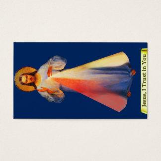 Jesus Divine Mercy Customizable Business Card