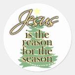 Jésus est la raison de la saison, Noël Autocollants